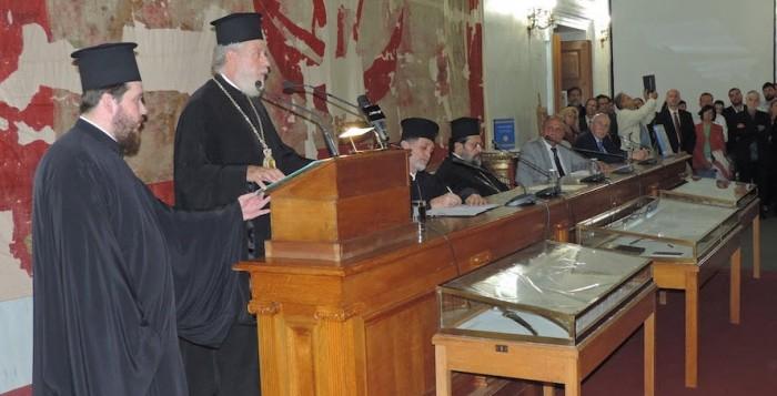 Παρουσίαση τιμητικού τόμου για τα 10 χρόνια ποιμαντορίας του Μητροπολίτη Σύρου κ.κ. Δωρόθεου Β'