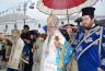 Με μεγαλοπρέπεια οι εκδηλώσεις για τον Ευαγγελισμό της Θεοτόκου στην Τήνο παρά την συνεχή βροχή