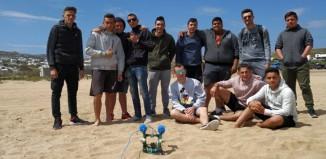 (βίντεο & φωτό) Υποβρύχιο Hydrobot από τους μαθητές του ΕΠΑΛ Μυκόνου