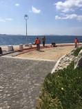 Προχωρούν οι εργασίες στο νέο λιμάνι