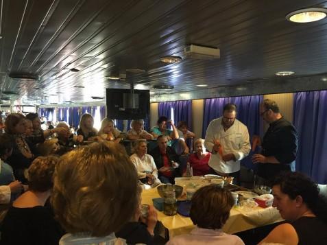 Οι Μυκονιάτικες γεύσεις ταξίδεψαν για δεύτερη φορά με το SUPER FERRY II