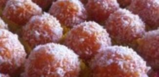 Ένα λαχταριστό, υγιεινό γλυκό με καρότο