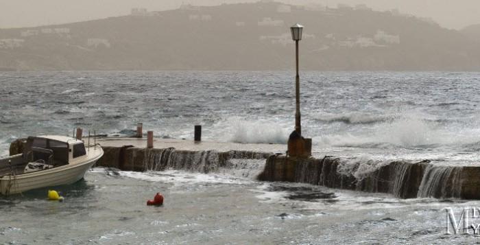 Νέο κύμα κακοκαιρίας από την Κυριακή με θυελλώδεις ανέμους και σημαντική πτώση της θερμοκρασίας
