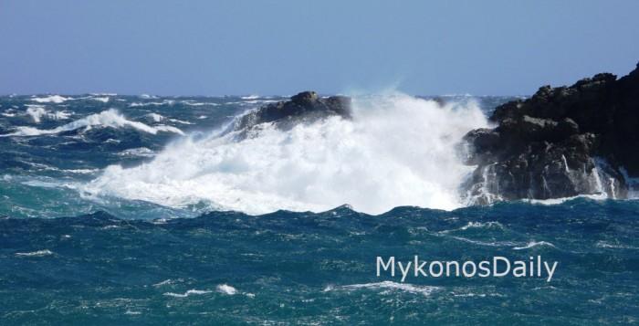 Θυελλώδεις άνεμοι σε Κυκλάδες και Κρήτη