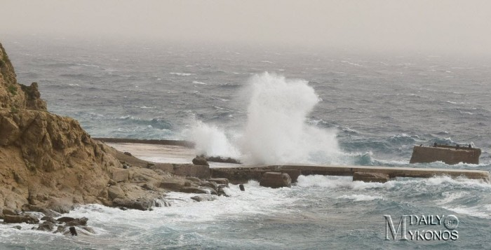 Ανακοίνωση του Λιμεναρχείου Μυκόνου για θυελλώδεις ανέμους