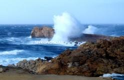 «Άγγιξε» κόκκινο η «Ωκεανίς»! Ρεκόρ με ριπές ανέμου 140 χλμ/ώρα στο Αιγαίο