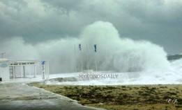 Η Διεύθυνση Πολιτικής Προστασίας Νοτίου Αιγαίου προειδοποιεί: Επικίνδυνα καιρικά φαινόμενα από την Παρασκευή έως και την Κυριακή