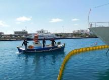 (φωτο) Άσκηση ετοιμότητας για θαλάσσια ρύπανση από το Λιμενικό Ταμείο και ΔΕΗ/ΑΣΠ Μυκόνου