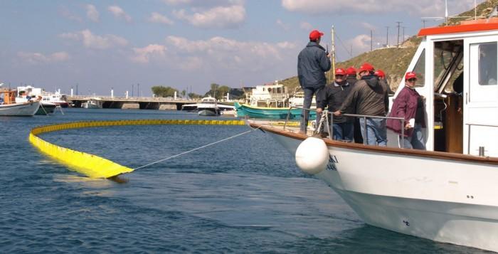 Πρόσκληση εκπαίδευσης αντιμετώπισης θαλάσσιας ρύπανσης