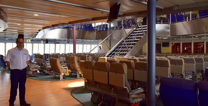 (φωτο)Ξενάγηση στα σαλόνια του υπεσύγχρονου Champion Jet 1