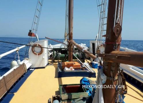 Η Μύκονος υποδέχεται το απόγευμα το ιστορικό πλοίο «Ευαγγελίστρια»