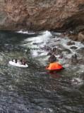 VIDEO από την επιχείρηση διάσωσης στο Τραγονήσι και την άφιξη των ναυαγών στο νέο λιμάνι