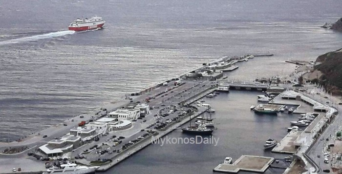 Αναβαθμίζεται το νέο λιμάνι   3.500.000€ για τον εκσυγχρονισμό των προσκρουτήρων
