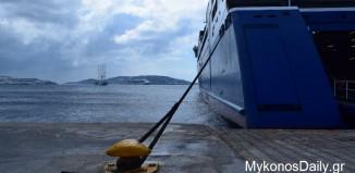 Χωρίς πλοία την Τετάρτη και την Πέμπτη τα νησιά