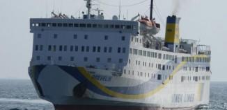 Πρόσκρουση του Ε/Γ - Ο/Γ ΠΡΕΒΕΛΗΣ στο λιμάνι της Ανάφης