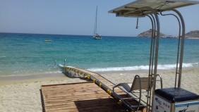 Φιλικές προς τα ΑμΕΑ οι παραλίες της Μυκόνου
