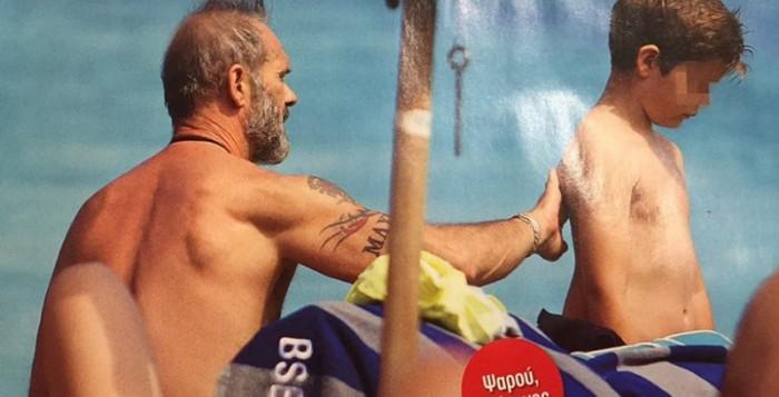Πέτρος Κωστόπουλος: Απόδραση στη Μύκονο με τα παιδιά του