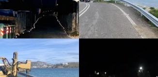 Εγκατάσταση στηθαίων ασφαλείας και ανακλαστήρων οδοστρώματος σε επιλεγμένα σημεία του οδικού δικτύου του Δήμου Μυκόνου