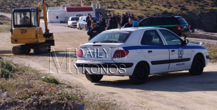 Ζητείται ψυχραιμία - Πυροβόλησαν περιπολικό τα ξημερώματα στα Διβούνια