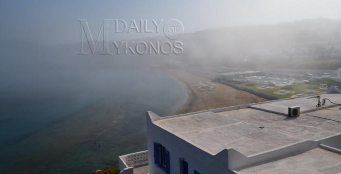 VIDEO - Αγγλικό τοπίο το πρωί στη Μύκονο