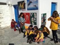 Μετά το παζάρι της Φιλοζωϊκής, εκδρομή στη Σύρο για τους Ναυτοπρόσκοπους