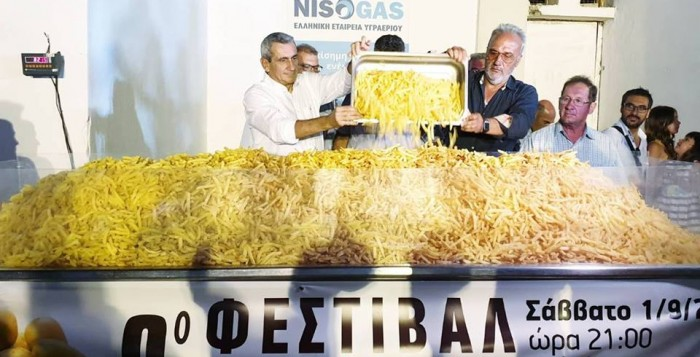 Νέο ρεκόρ Γκίνες για τη Νάξο στο 9ο Φεστιβάλ Πατάτας