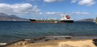 Προσάραξε δεξαμενόπλοιο φορτωμένο με Fuel Oil στη Μήλο