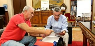 Συνεργασία του Περιφερειάρχη με τον Πρόεδρο του ΟΑΣΠ