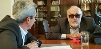 Η τροποποίηση του θεσμικού πλαισίου του «Καλλικράτη» αντικείμενο της συνάντησης του Περιφερειάρχη Νοτίου Αιγαίου με τον Υπουργό Εσωτερικών