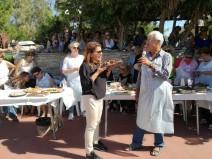 (ΦΩΤΟ) Η Αργυρώ Μπαρμπαρίγου στη Σύρο για το Aegean Mamas Know Best