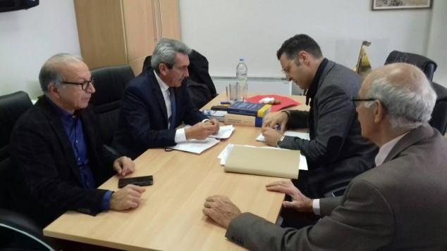 Επίσκεψη του Περιφερειάρχη Γιώργου Χατζημάρκου στον Δήμο Τήνου