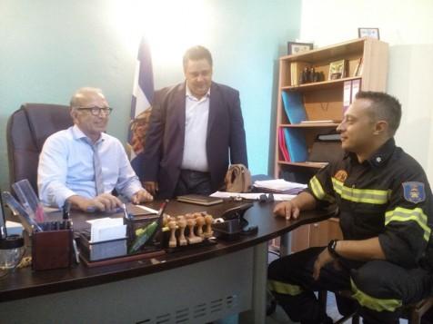 Επίσκεψη Γιώργου Λεονταρίτη στην Άνδρο