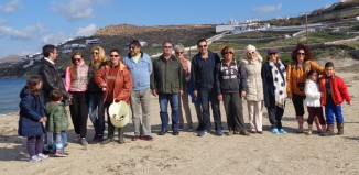 VIDEO - Συνάντηση με πρωταγωνιστές τους άγριους νάρκισσους της Μυκόνου