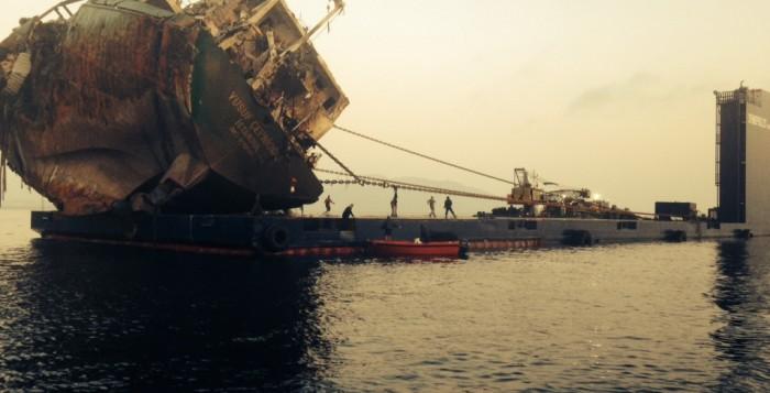Τι αναφέρει η μελέτη του ΕΛ.ΚΕ.Θ.Ε.για την ρύπανση από το ναυάγιο του Τούρκικου πλοίου