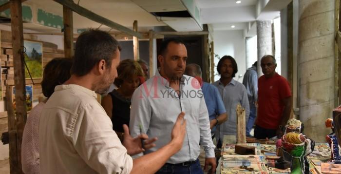 (vid & pics) Με επιτυχία πραγματοποιήθηκαν τα εγκαίνια της έκθεσης «Au bord de l'eau»