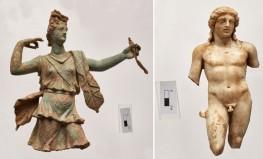 Γλυπτά της Αρτέμιδος και του Απόλλωνα έφεραν στο φως ανασκαφές