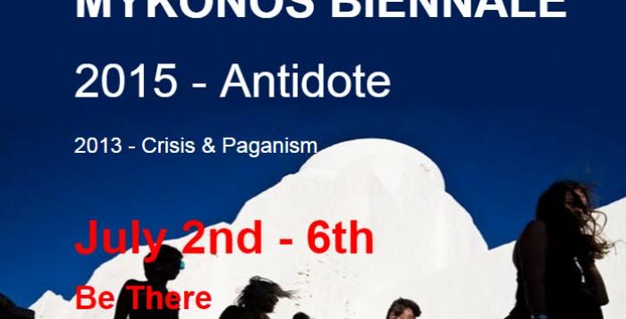 Το πρόγραμμα, οι χώροι εκθέσεων και εκδηλώσεων της Μύκονος Μπιενάλε 2015