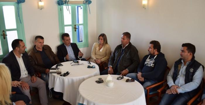 Πρώτη συνεδρίαση της Δημοτικής Επιτροπής Νέας Δημοκρατίας Μυκόνου