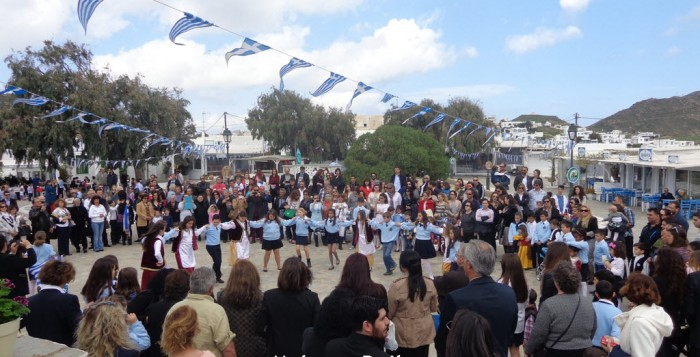 (ΦΩΤΟΓΡΑΦΙΕΣ) Οι εορταστικές εκδηλώσεις της 25ης Μαρτίου στην Δημοτική Κοινότητα Άνω Μεράς