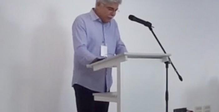 Χαιρετισμός Προέδρου Ελληνικής Επιτροπής Βαρύτητας καθηγητή Κωνσταντίνου Κόκκοτα