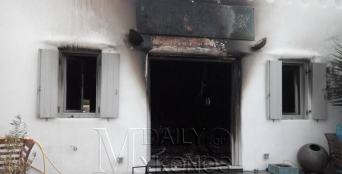 Μύκονος: Μπήκαν, έκλεψαν και έκαψαν κατάστημα στο Ματογιάννι