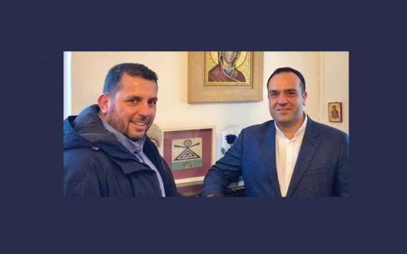 Με το βλέμμα στο αύριο δυναμικά μπροστά με Κουκά ο Θεοχάρης Κουσαθανάς και ο Γιώργος Ρουσουνέλος