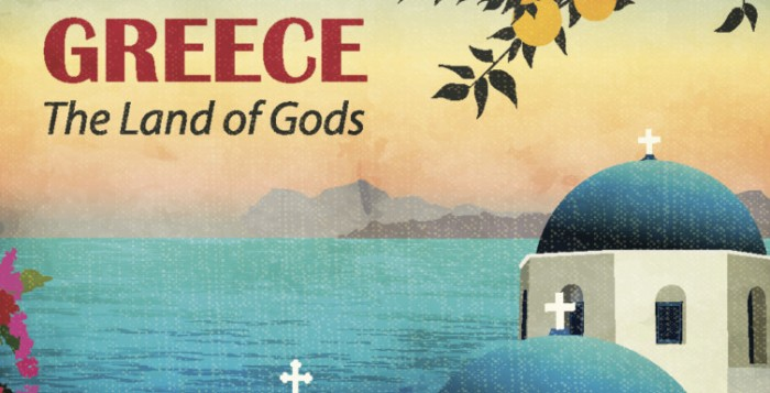 New York Times, Greece The Land of Gods