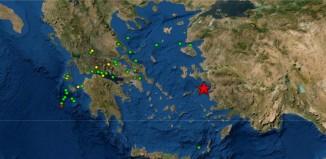 Ισχυρός σεισμός αισθητός στη Μύκονο