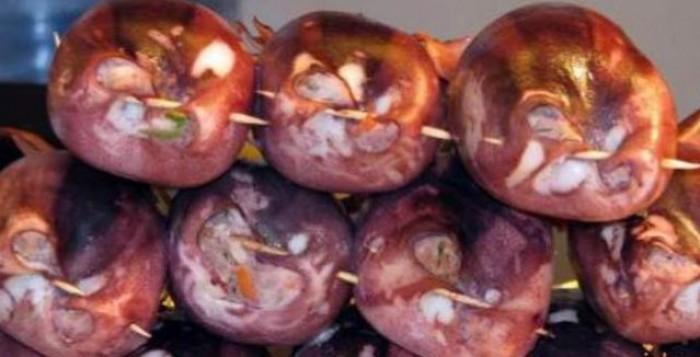 Καλοκαιρινή συνταγή: καλαμάρια γεμιστά