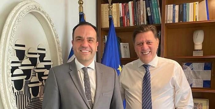 Συνάντηση του Δήμαρχου Μυκόνου με τον  Αν. Υπουργό Εξωτερικών