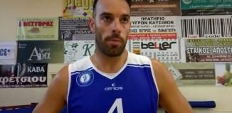 Βασίλης Αγγελακόπουλος: «Εύχομαι να έχουμε υγεία και να περάσουμε μια όμορφή μπασκετική χρονιά με τον Α.Ο. Μυκόνου!»