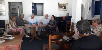 Πολιτική Εκδήλωση του ΣΥΡΙΖΑ-Προοδευτική Συμμαχία στη Μύκονο