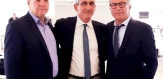 Γιώργος Λεονταρίτης και  Χρήστος Ευστρατίου, οι δύο νέοι χωρικοί Αντιπεριφερειάρχες, Κυκλάδων και Δωδεκανήσου αντίστοιχα