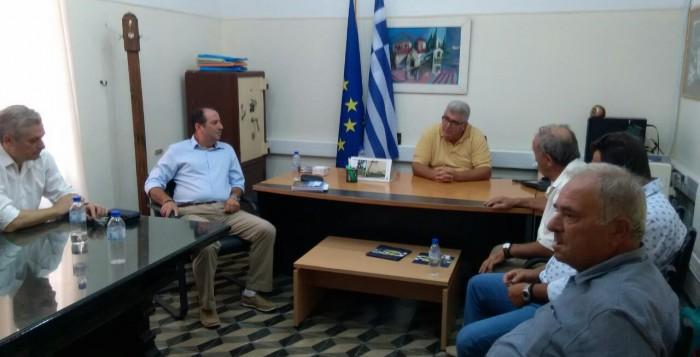 Συνάντηση του Φιλ. Ζαννετίδη με εκπροσώπους της ΕΑΣΔ και της ΚΑΪΡ